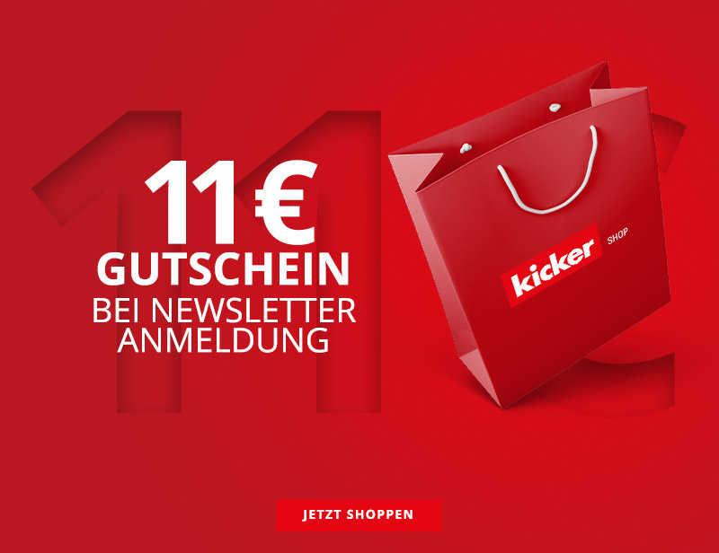11€ NEWSLETTER GUTSCHEIN