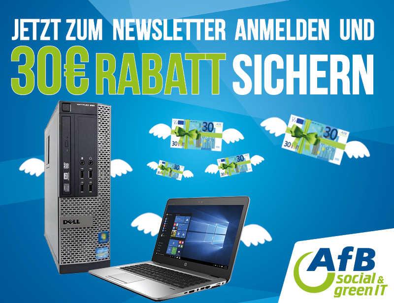 30 EURO AFB NEWSLETTER GUTSCHEIN
