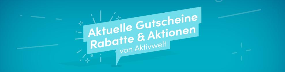 Alle Gutscheine und Rabattcodes für den aktivwelt.de Online Shop