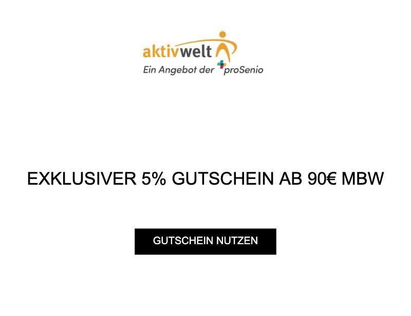 EXKLUSIVER 5% GUTSCHEIN AB 90€ MBW
