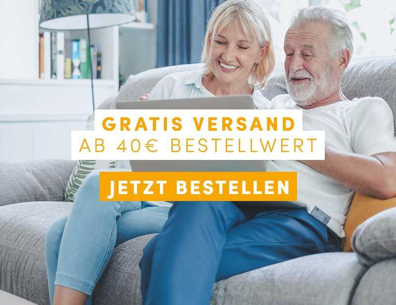 GRATIS VERSAND AB 40 EUR WARENWERT