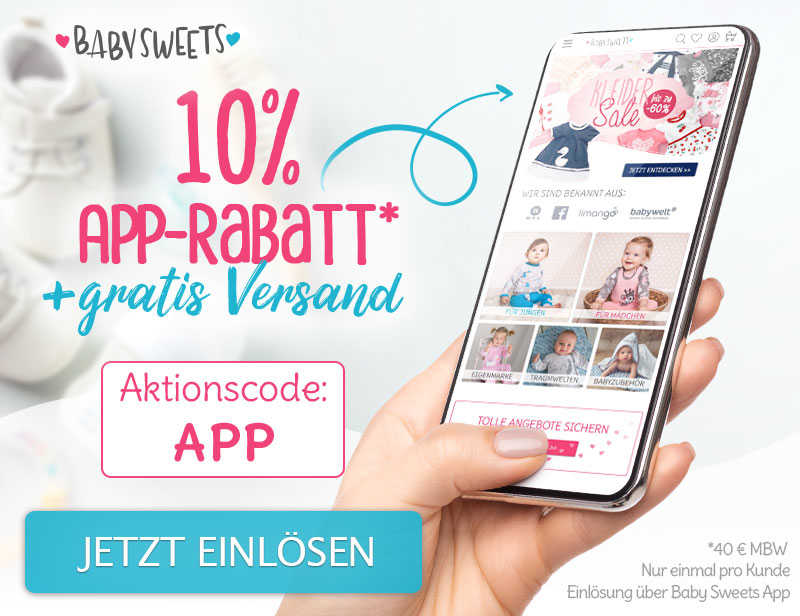 APP Only: 10% Rabatt + Gratis Versand