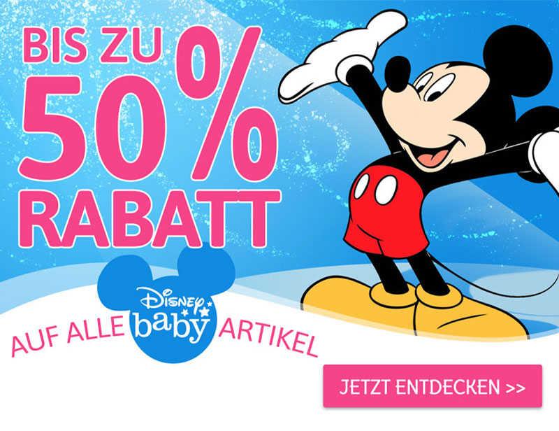 Bis zu 50% Rabatt auf Disney