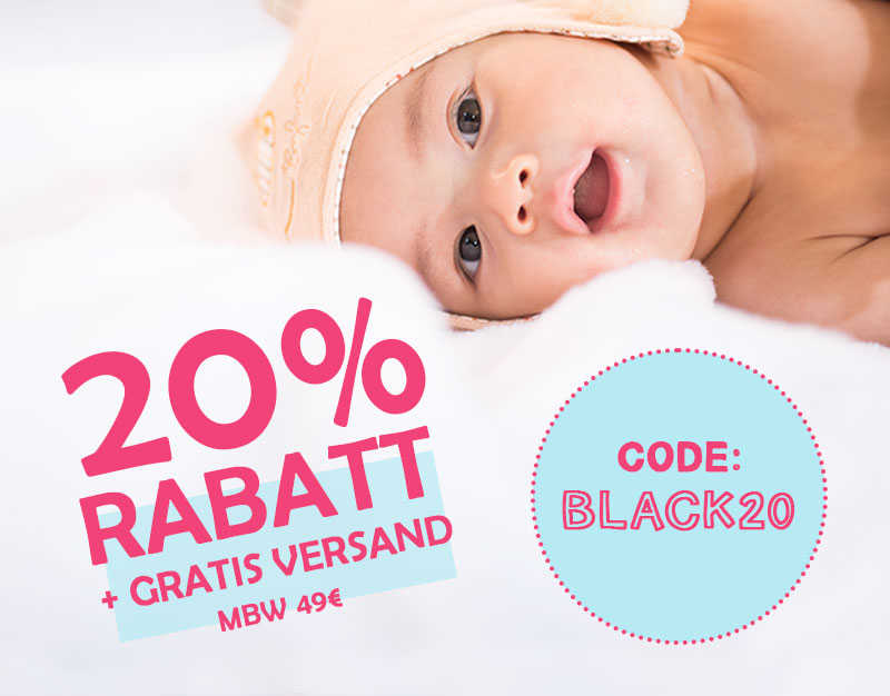 20% Rabatt + GRATIS VERSAND