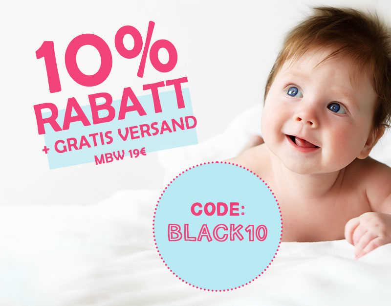 10% Rabatt + GRATIS VERSAND
