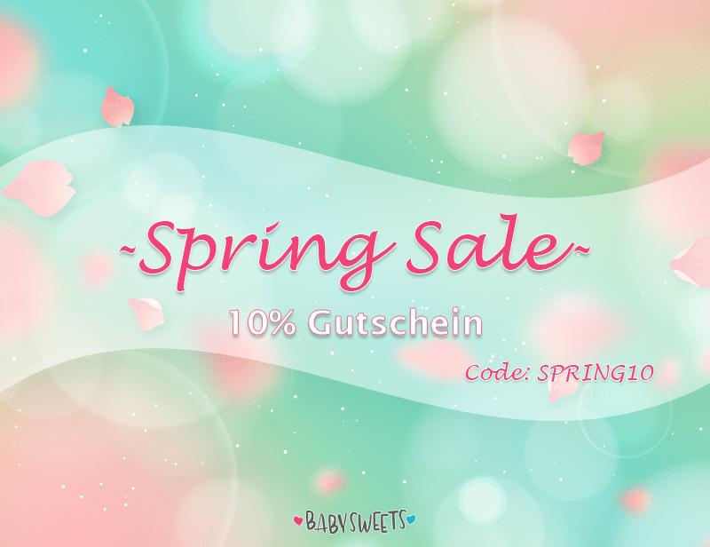 10% Spring Gutschein