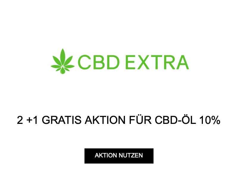 2 +1 GRATIS AKTION FÜR CBD-ÖL 10%