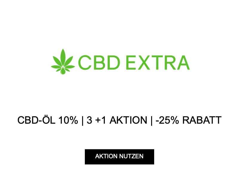 CBD-ÖL 10%   3 +1 AKTION   -25% RABATT