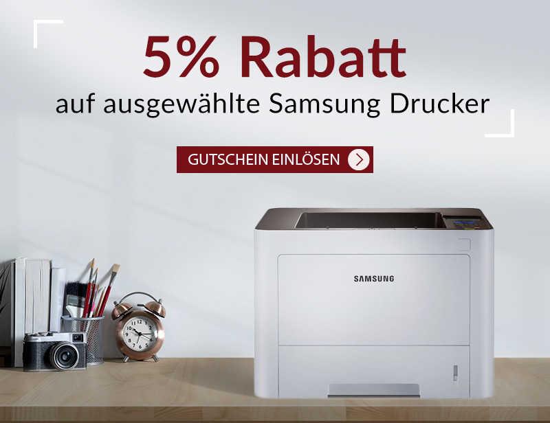 5% GUTSCHEIN auf ausgewählte Samsung Geräte
