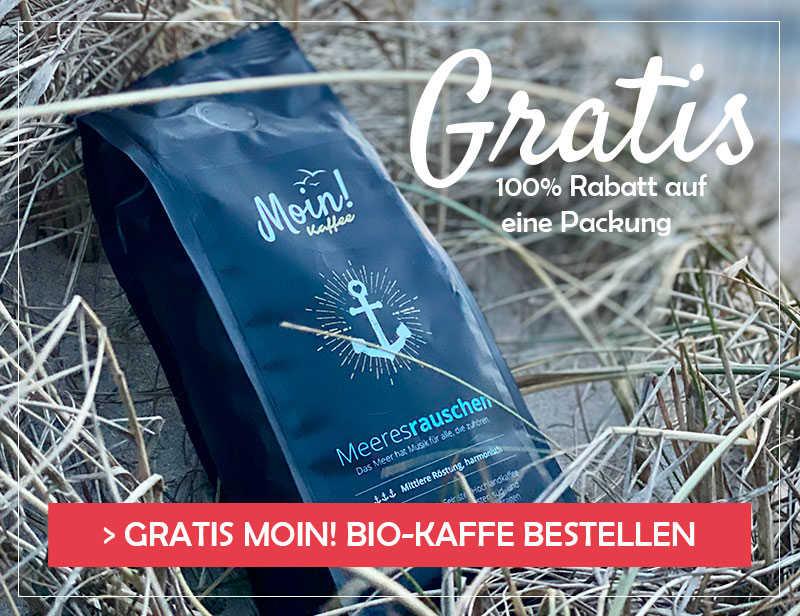 MOIN! BIO-KAFFEE -  100% Rabatt