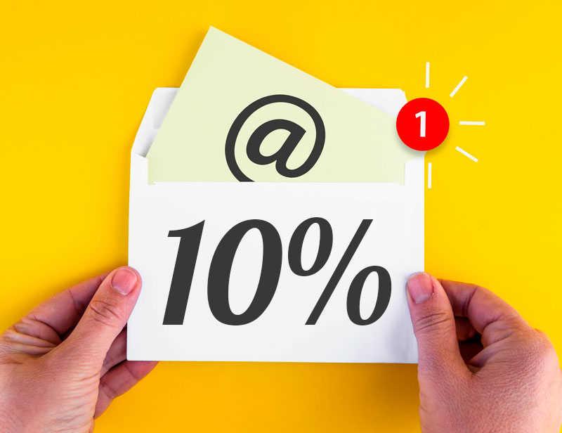 10% NEWSLETTER GUTSCHEIN