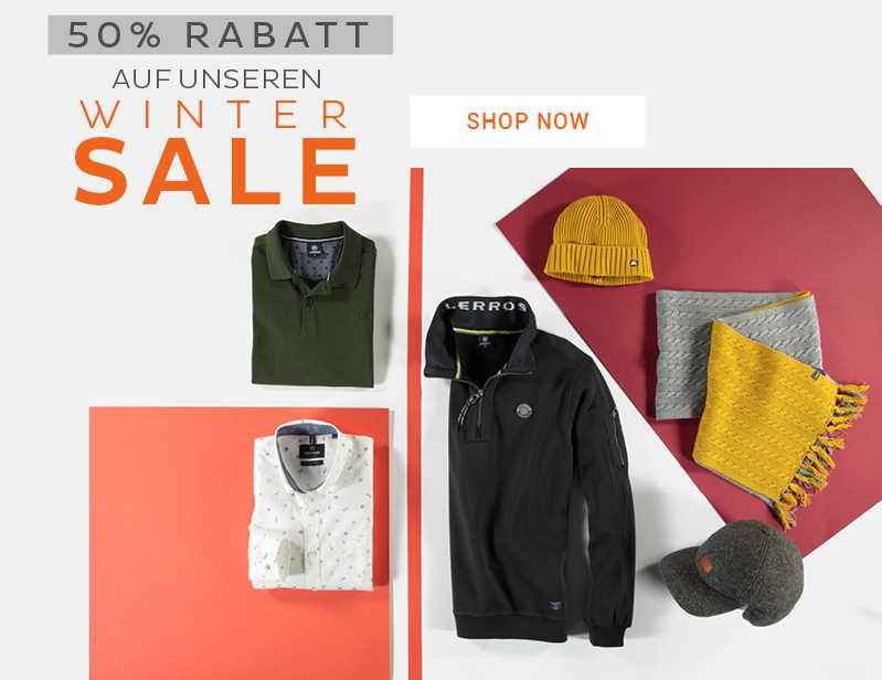 50% RABATT auf Winter-Styles