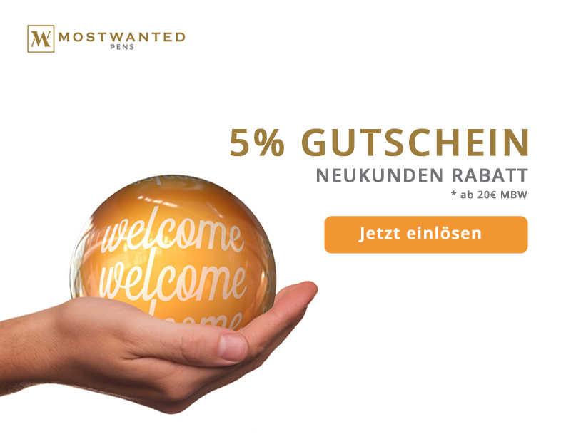 5% GUTSCHEIN FÜR NEUKUNDEN - AUF DIE ERSTE BESTELLUNG AB 20€