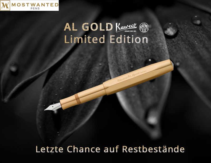 Letzte Chance - Kaweco Restbestände - AL Sport Gold Edition