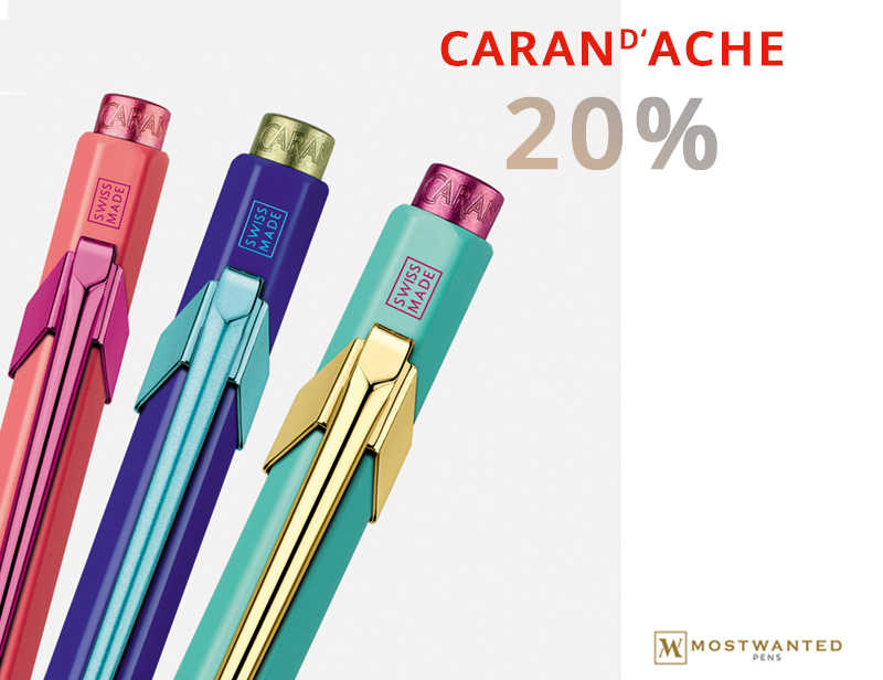 20% Caran D'Ache May Promotion