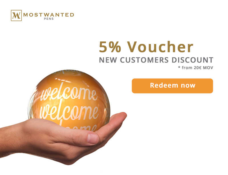 5% VOUCHER FOR NEW CUSTOMERS - ON THE FIRST ORDER FROM € 20