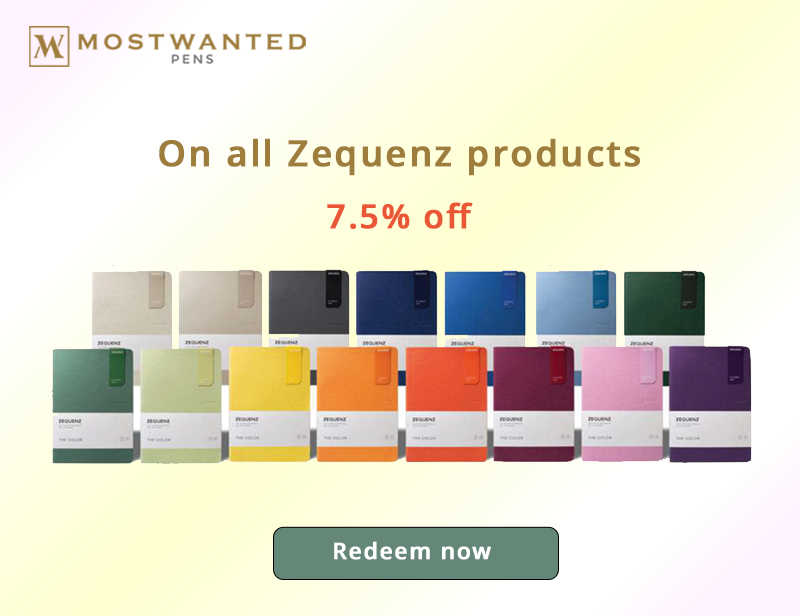 7,5% OFF – ON ALL ZEQUENZ PRODUCTS