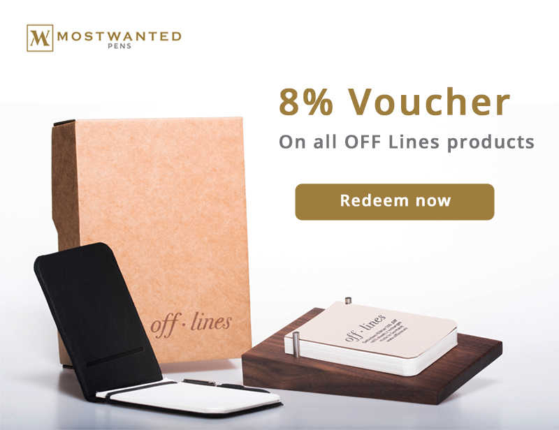 8% VOUCHER – ON ALL OFF LINES PRODUCTS