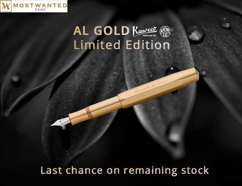 Last Chance - Kaweco  Remnants  - AL Sport Gold Edition