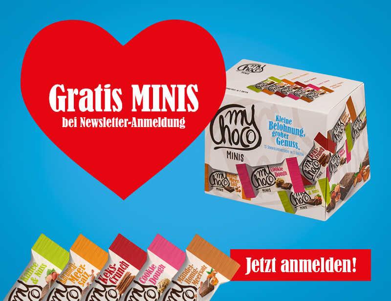 MINIS BOX GRATIS FÜR NEWSLETTER ANMELDUNG