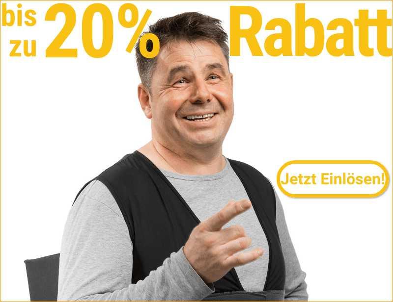 EXKLUSIVER 20% GUTSCHEIN MBW 150€