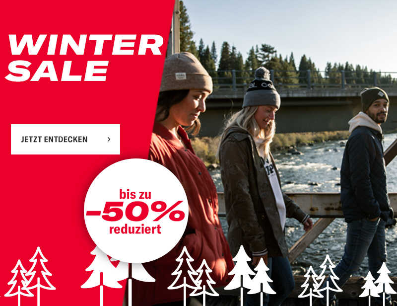 WINTER SALE BIS ZU -50%