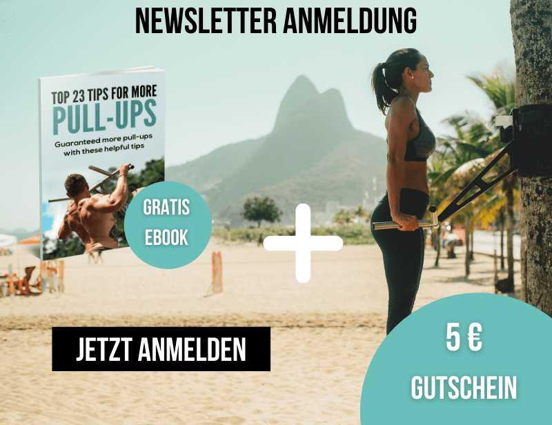 NEWSLETTER ANMELDUNG: 5€ GUTSCHEIN + GRATIS EBOOK