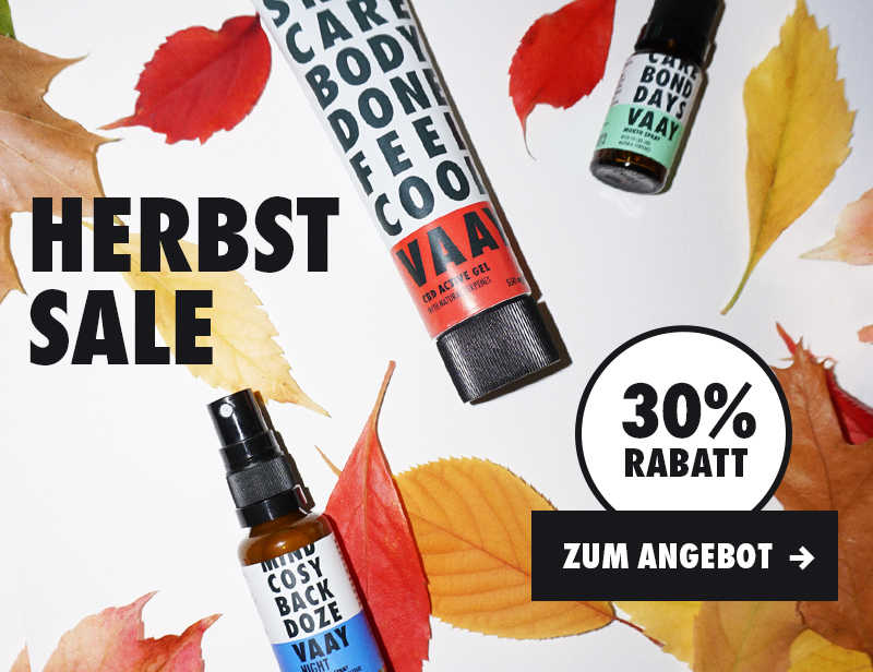 Herbstsale bei VAAY - Spare 30%