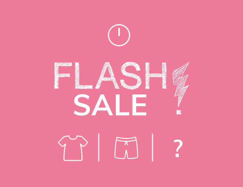 FLASH SALE - NUR HEUTE