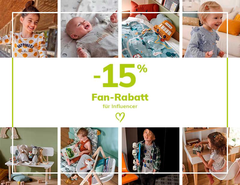 15% FAN-RABATT
