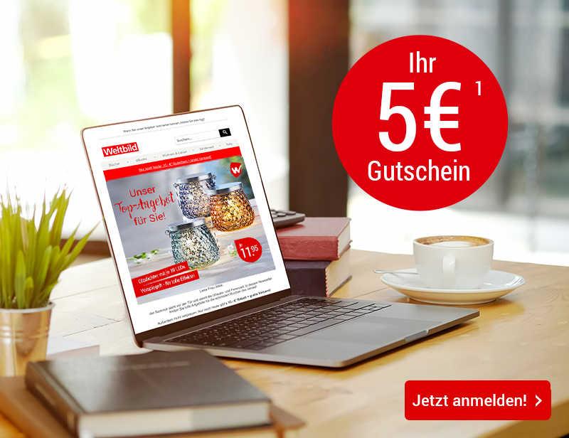 5.- €¹ NEWSLETTER GUTSCHEIN